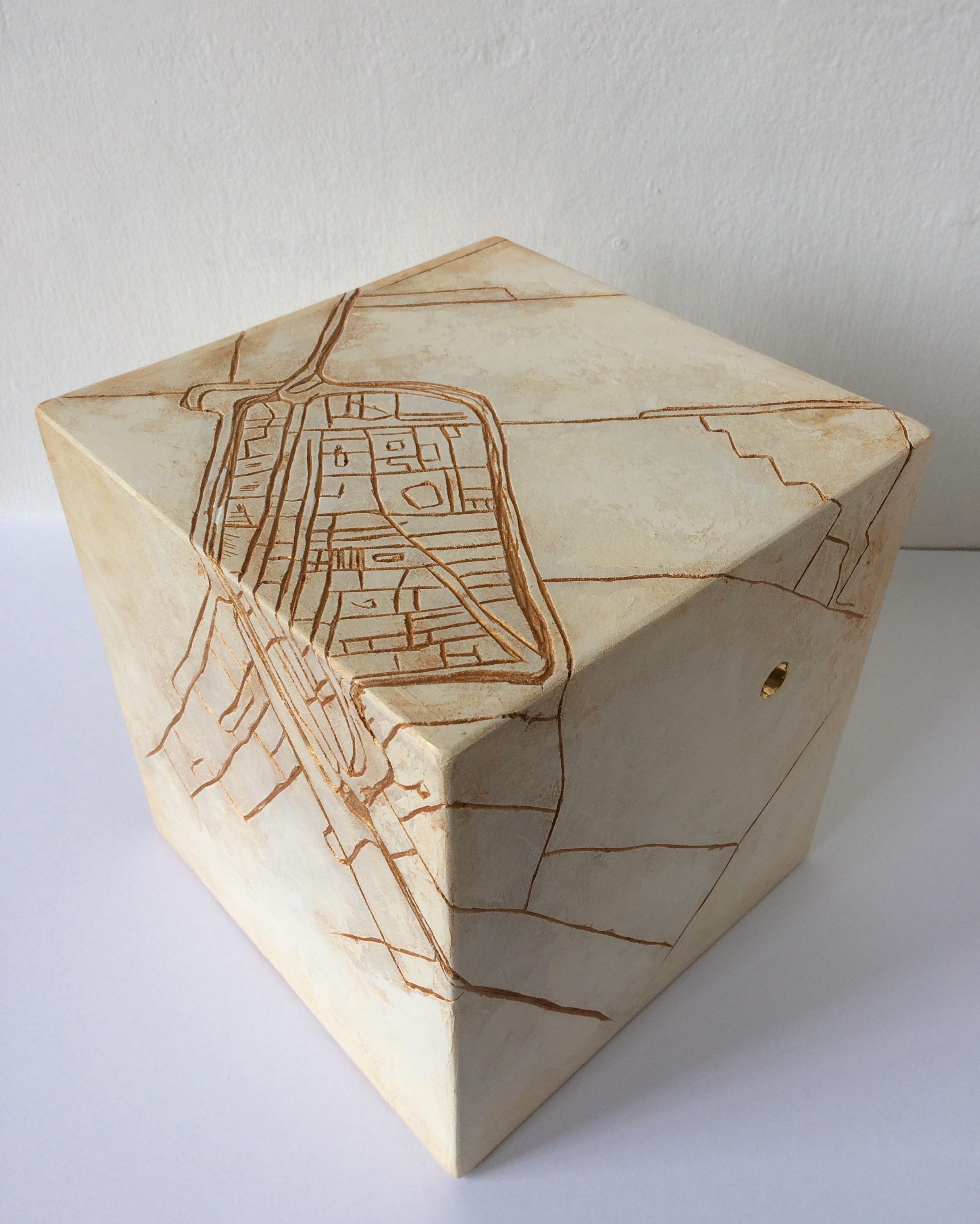 De Delftse Doorkijker ca. 20x20x20 cm Verkocht